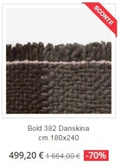 tappeto moderno bold 382 danskina