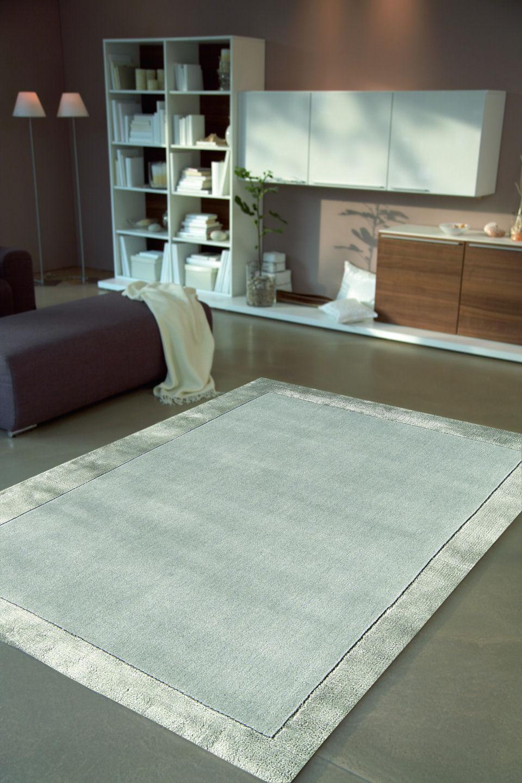 tappeto-moderno-shiny-silver-tappetino