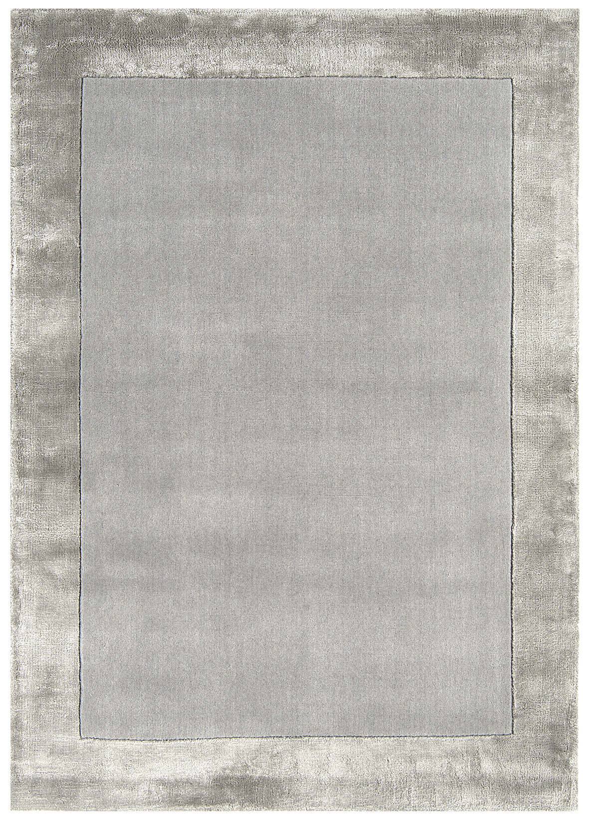 tappeto-moderno-shiny-silver