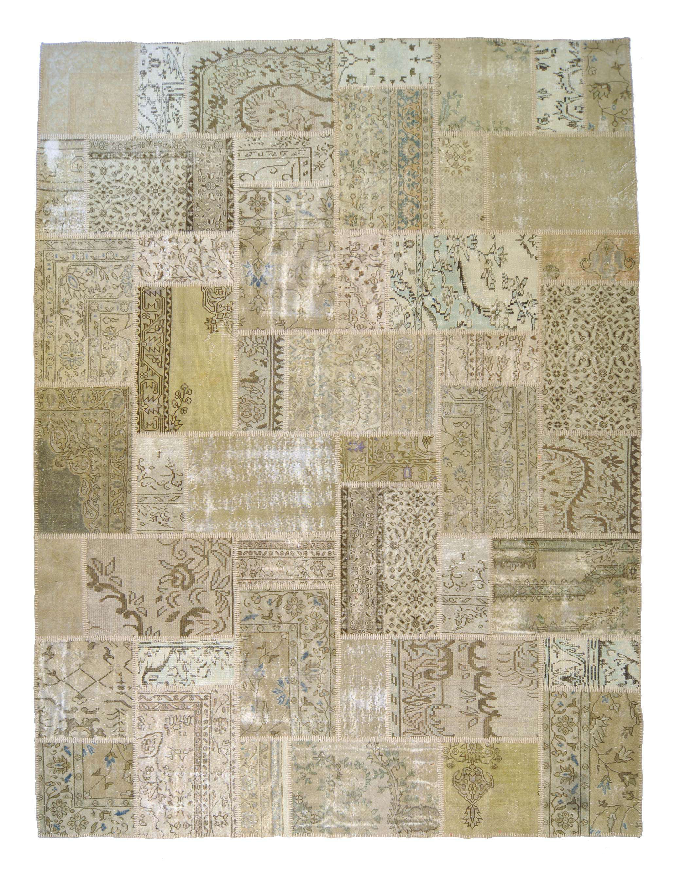 tappeti persiani patchwork idee per il design della casa