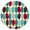 tappeto-rotondo-drops-red-teal
