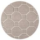 tappeto-rotondo-hexagon-beige
