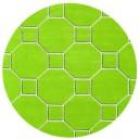 tappeto-rotondo-hexagon-green