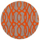 tappeto-rotondo-laces-orange