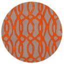 tappeto-rotondo-laces-orange