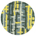 tappeto-rotondo-rain-yellow