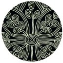 tappeto-rotondo-tribal-black