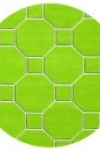 tappeto-rotondo-hexagon-green