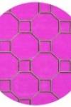 tappeto-rotondo-hexagon-pink