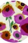 tappeto-rotondo-poppies-white-multi