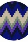 tappeto-rotondo-zig-zag-purple