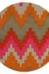 tappeto-rotondo-zig-zag-sienna