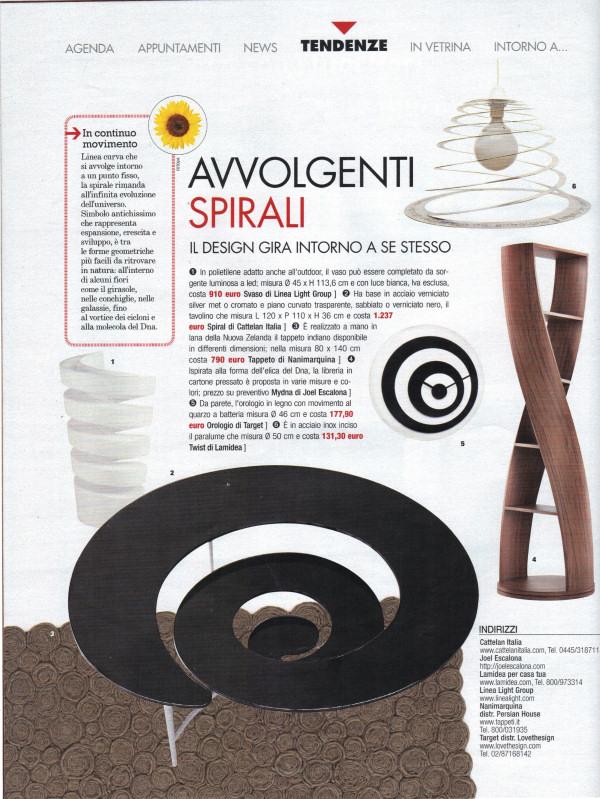 tappeto moderno nanimarquina spiral