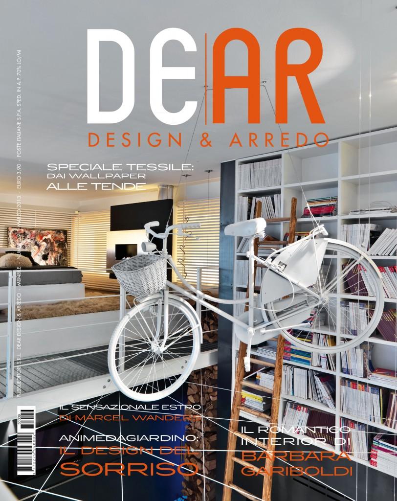 copertina DEAR DEsign ARredo marzo 2013