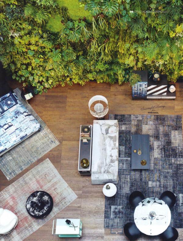 Diesel Home tappeti patchwork e vintage