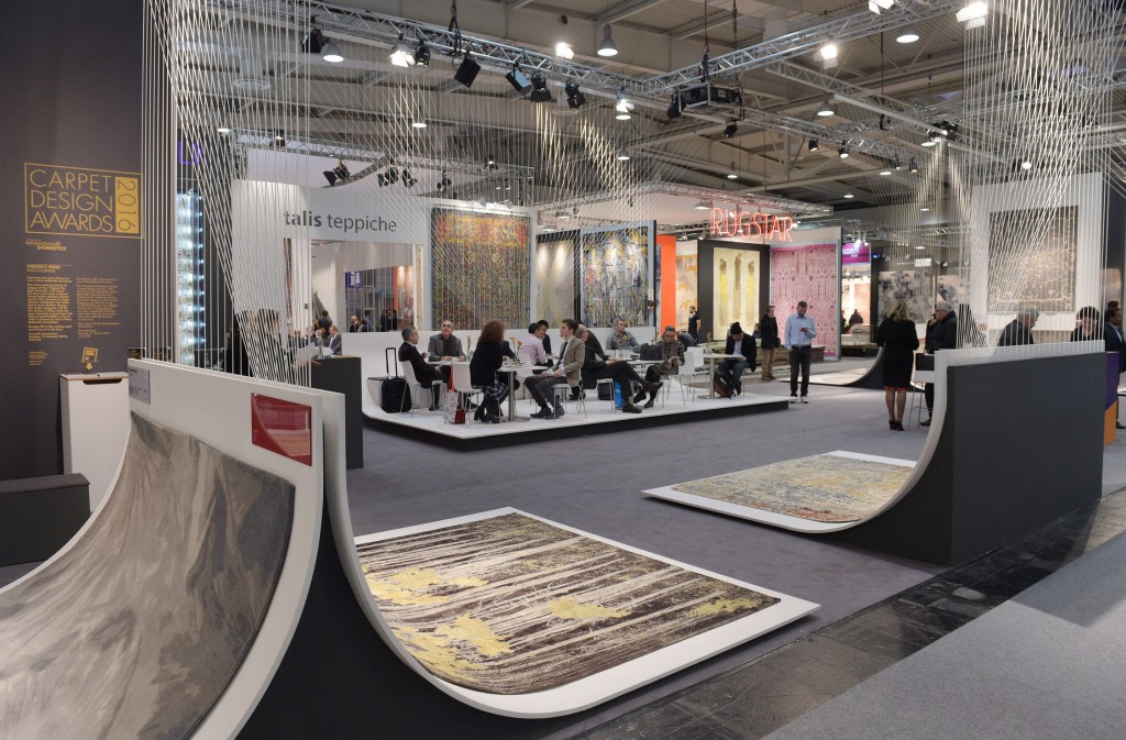 Concorso al Domotex per migliori tappeti moderni e classici