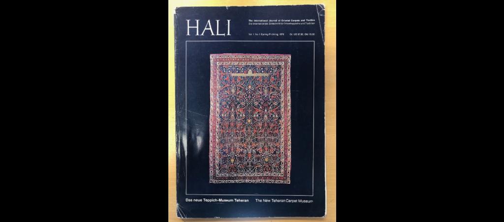 """primo numero della rivista  """"The International Journal of Oriental Carpets and Textiles"""" specializzata in tappeti"""