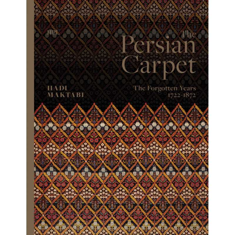 "libro inglese ""The Persian Carpet: The Forgotten Years 1722-1872"""