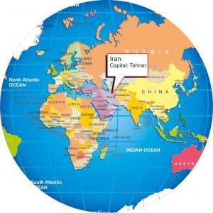 mappa iran produttore tappeti persiani