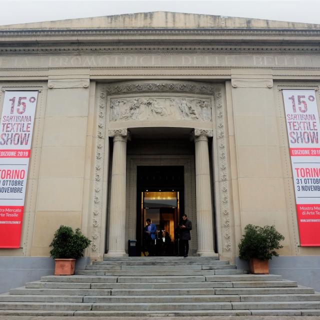 Edizione 2019 del Salone del Tessuto Sartirana a Torino