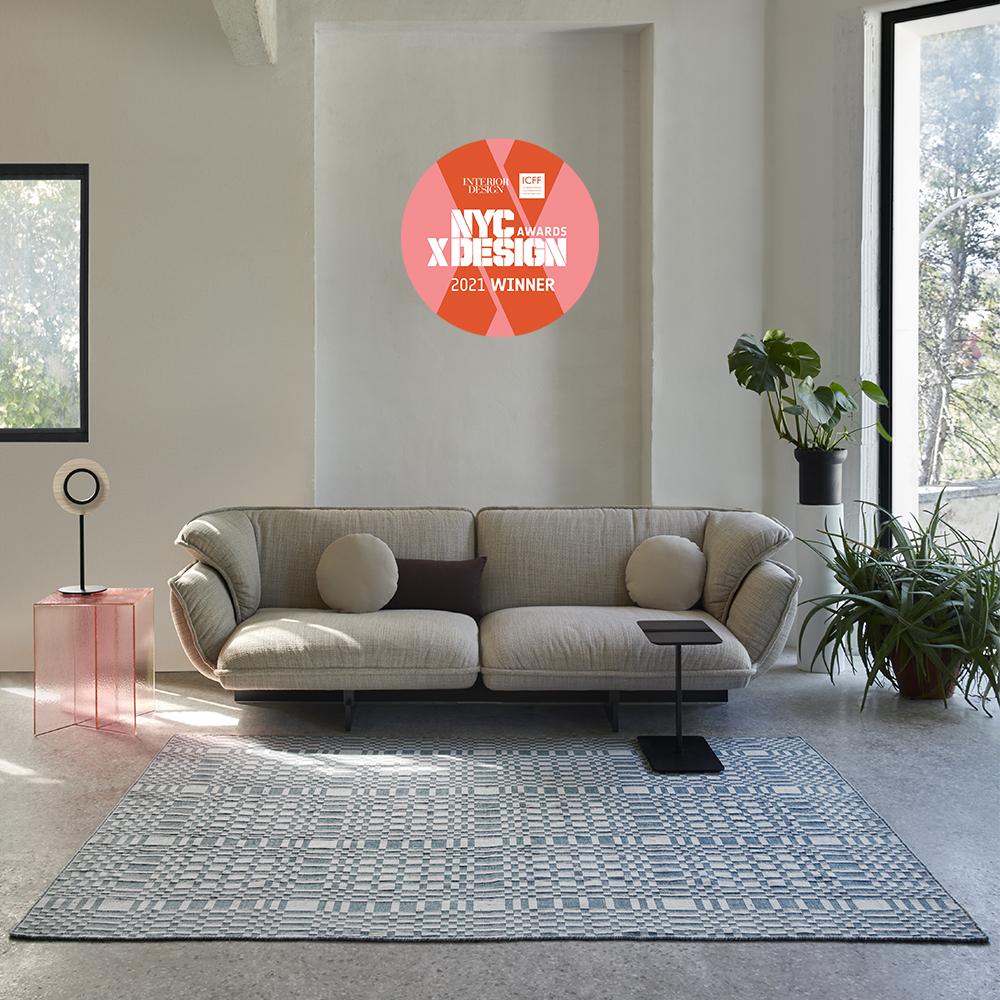 tappeto moderno Patch di GAN, vincitore del NYC x Design 2021