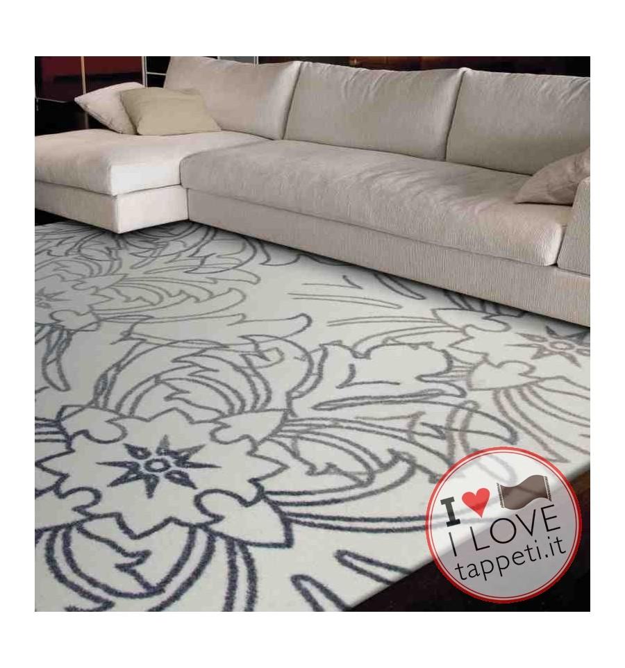 tappeto moderno Wissenbach crema tortora cm.160x230