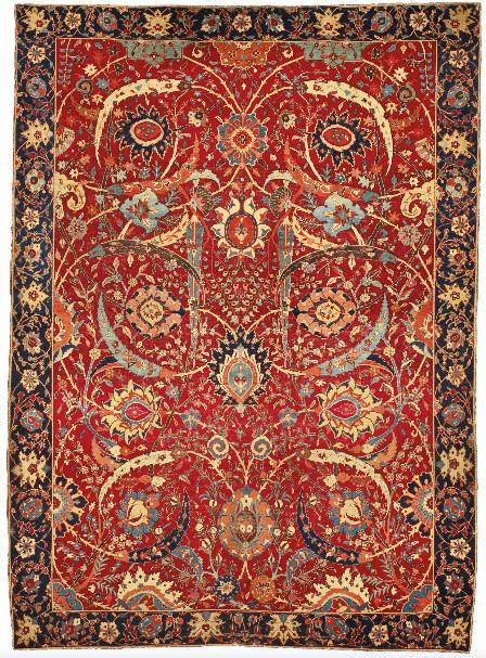 asta di tappeti persiani da record