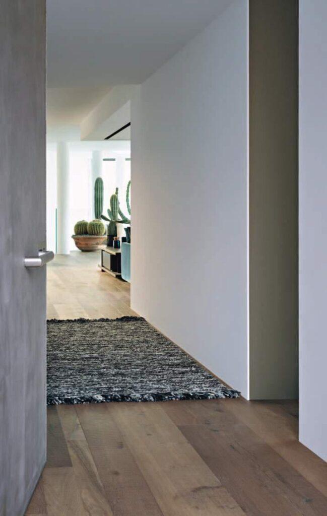 i tappeti Missoni Walmer sono resistenti all'usura e adatti a zone di grande passaggio come l'ingresso