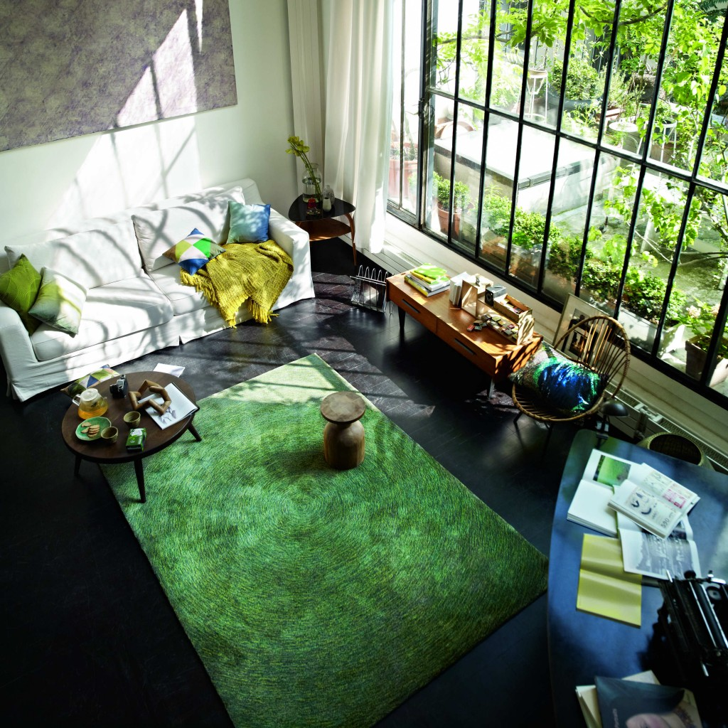 tappeto moderno Esprit Home ambientato
