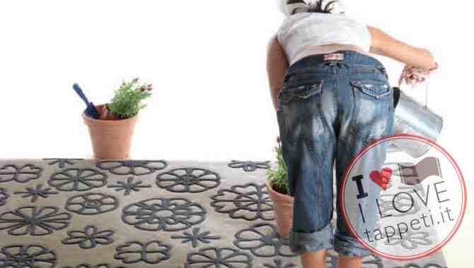 tappeto moderno Garden di Natalia Pepe per SITAP