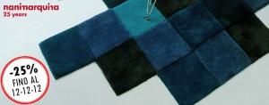 tappeto Nanimarquina Dolorez blu