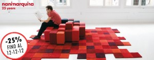 tappeto Nanimarquina Dolorez red