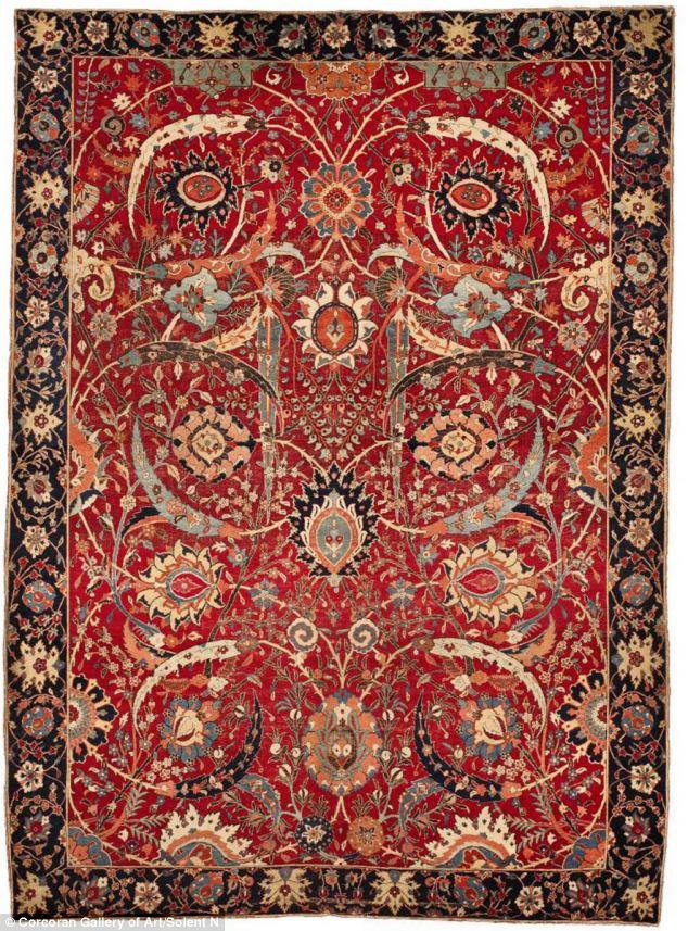 tappeto più costoso venduto all'asta  $33,7 milioni