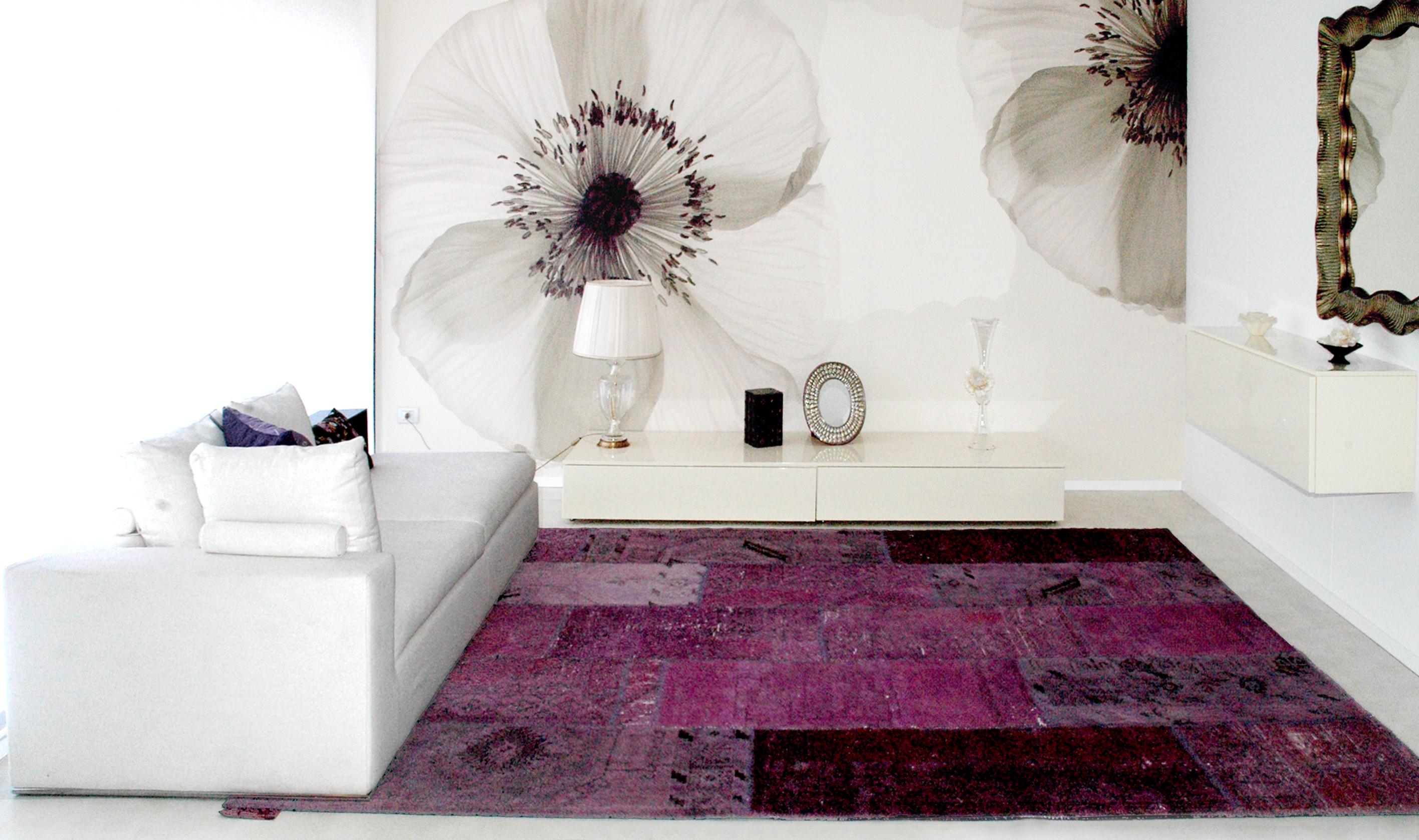 Nuova tendenza dei tappeti patchwork colori acidi il - Sirecom tappeti ...