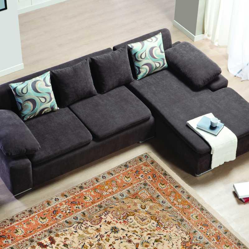 tappeto annodato a mano in Persia, modello Tabriz floreale in lana