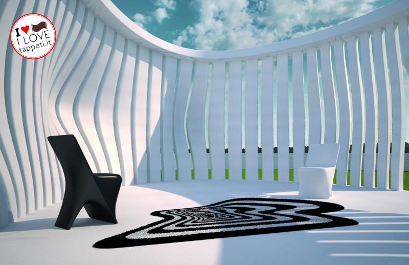 tappeto moderno di Karim Rashid per Vondom