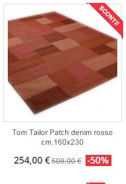 tappeto moderno tom tailor patchwork