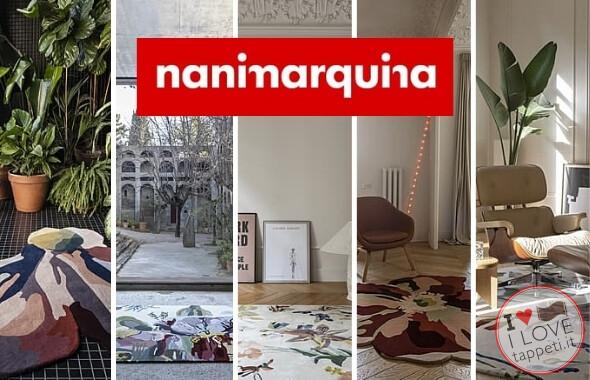 tappeti moderni Nanimarquina Flora